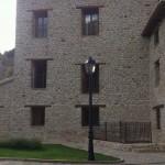 Restauración fachada del Molino Alto de Aliaga