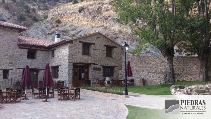 Restauración del Hotel Molino Alto de Aliaga