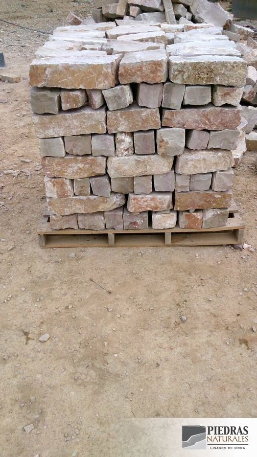 Piedra zizallada de mamposteria blanco tipo mosqueruela piedras naturales linares de mora - Tipos de piedras naturales ...